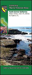 Cover: Brochure: California Marine Protected Areas - North Central California